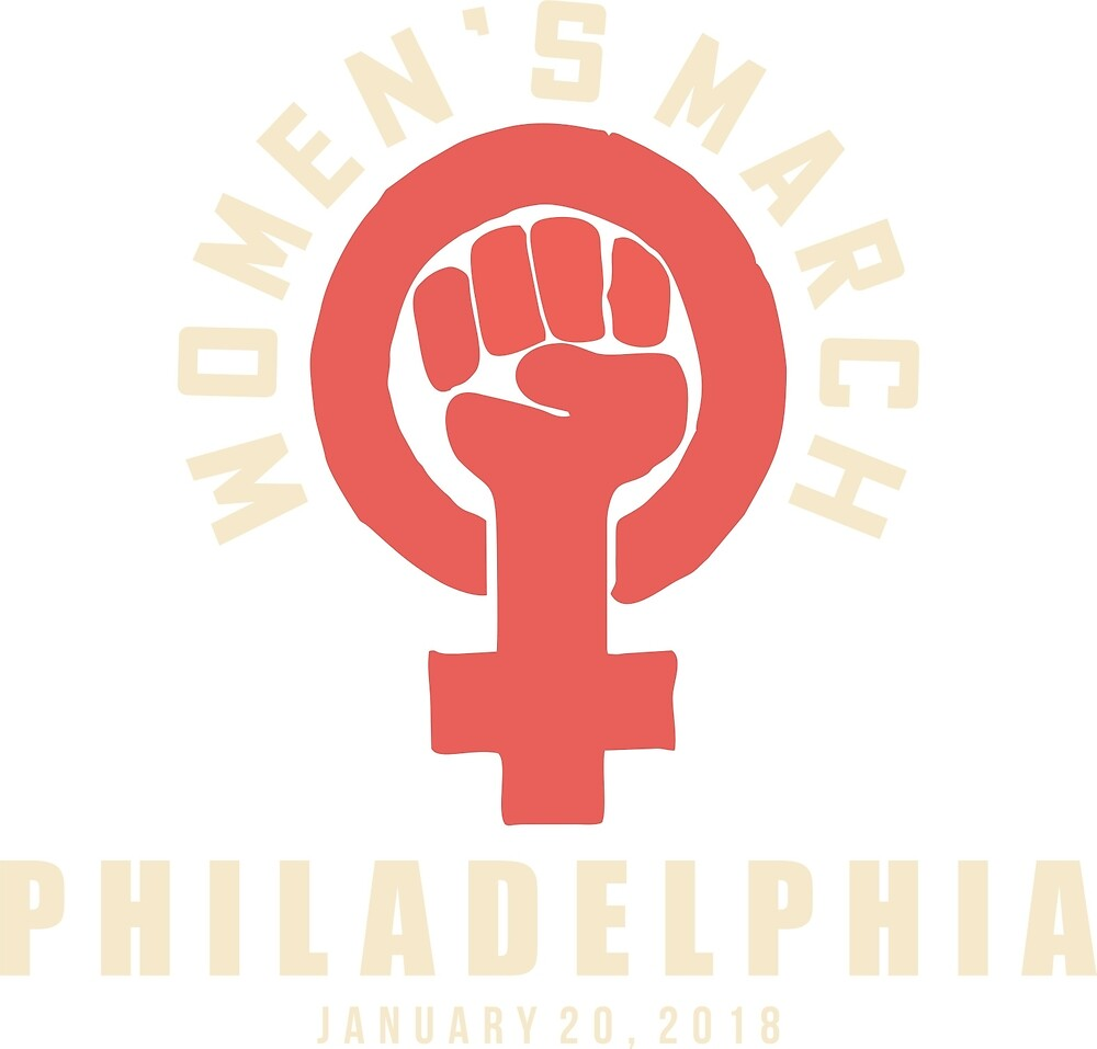 Women's march Philadelphia 2018 by yusniah