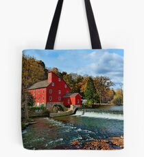 The Historic Red Mill of Clinton NJ Tote Bag