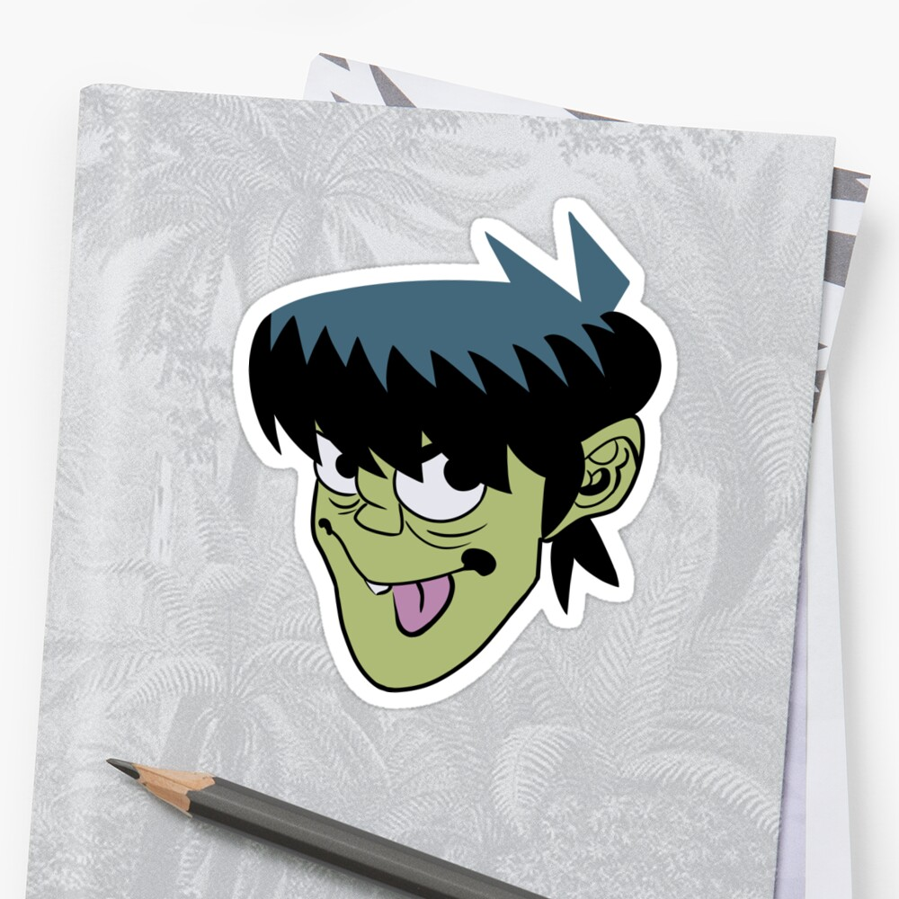 Murdoc Green Tea by instantreigen