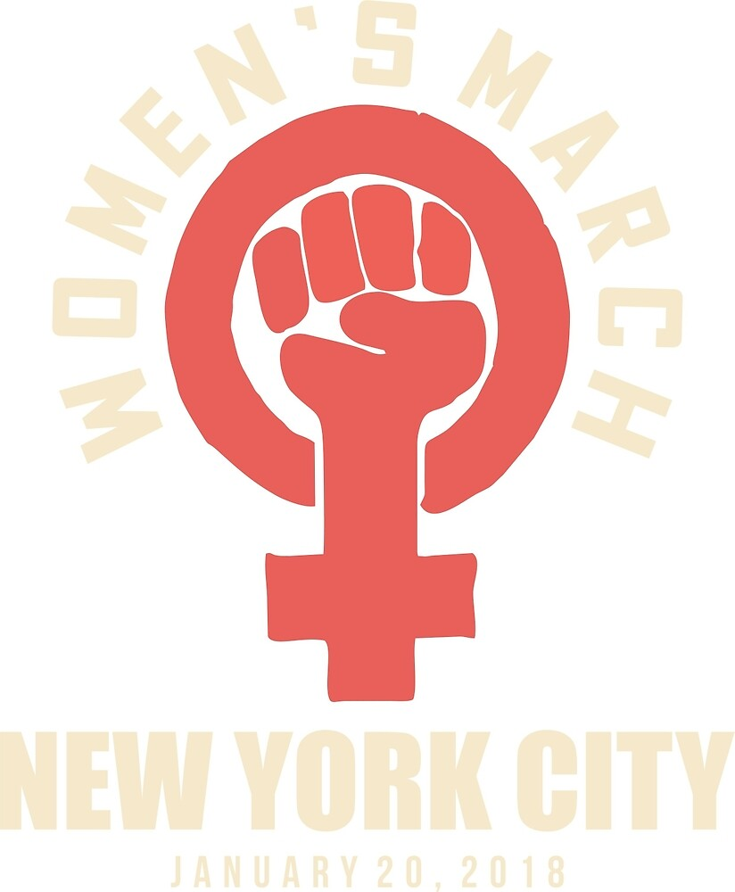 wOMEN'S MARCH 20 JANUARY NEW YORK CITY by yusniah