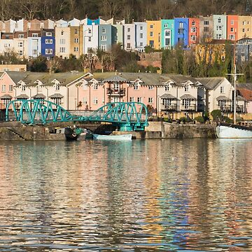 Colourful Harbourside in Bristol by CarolynEaton
