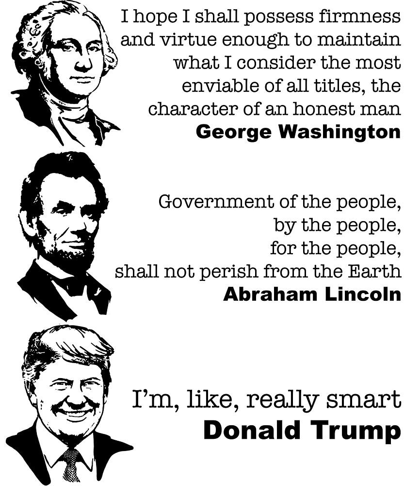 Donald Trump funny quote by MichaelRellov