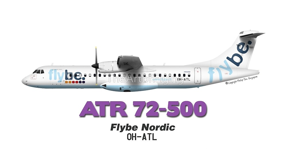 ATR 72-500 - Flybe Nordic by TheArtofFlying