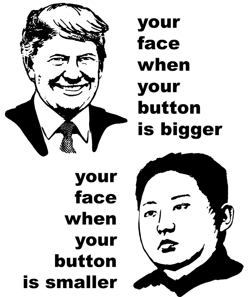 Donald Trump vs Kim Jong Un by MichaelRellov