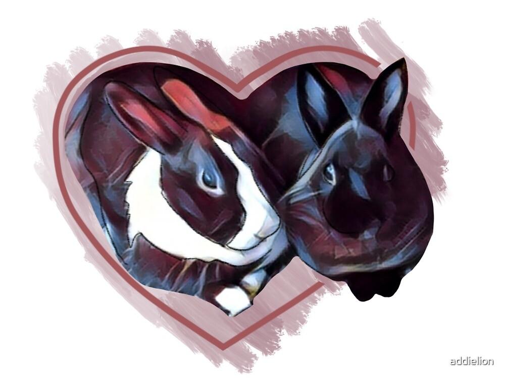 Heart Buns by addielion