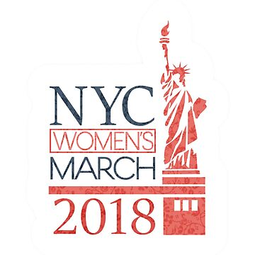 Womens march NYC by Titike