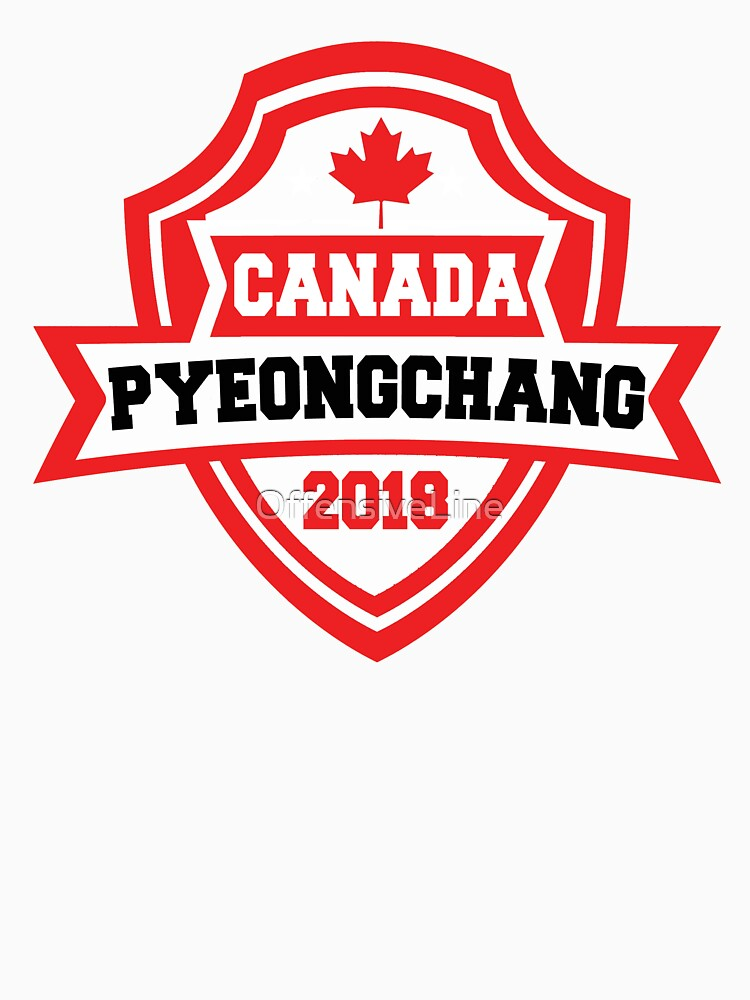 Team Canada Pyeongchang 2018 by OffensiveLine