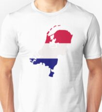 Netherlands map flag T-Shirt