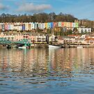 Bristol's Floating Harbour by Carolyn Eaton
