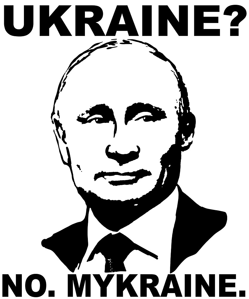 Vladimir Putin Ukraine funny memes by MichaelRellov