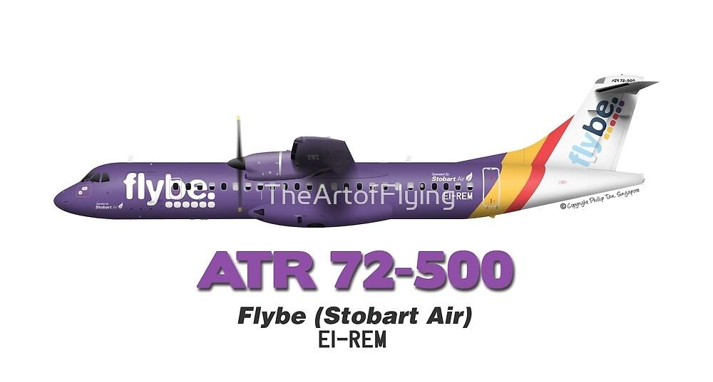 ATR 72-500 - Flybe (Stobart Air) by TheArtofFlying