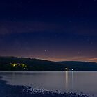 Coniston Water at Night, Cumbria by JMChown