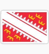 Flag of Alsace Sticker