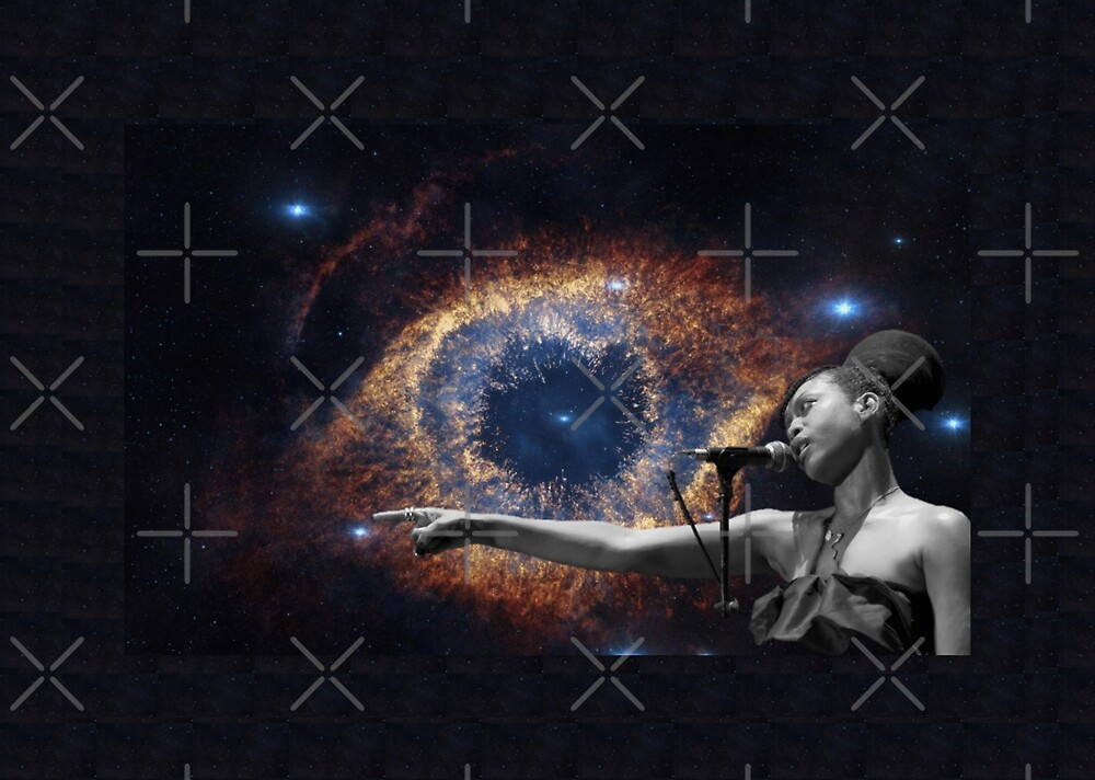 Erykah Sings To The Universe by surrealitee