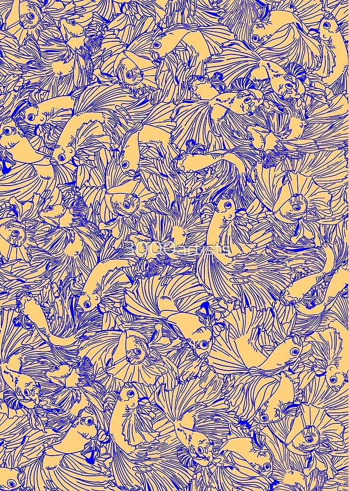 Betta Fish 1 by 3000artists