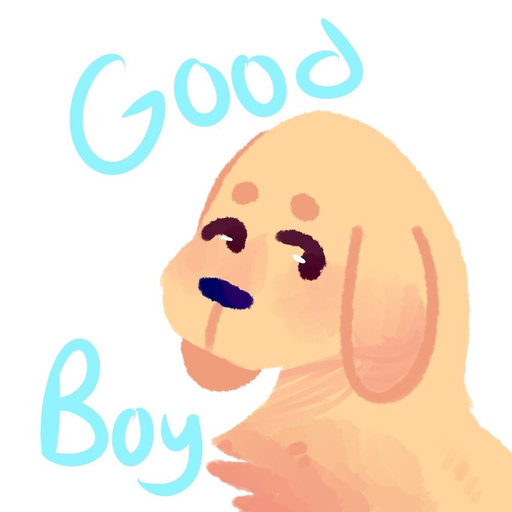 Good boy by cometbun