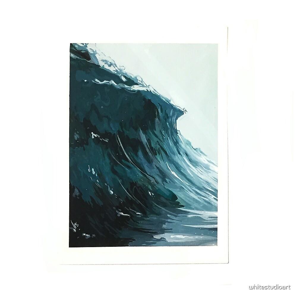 Wave by whitestudioart