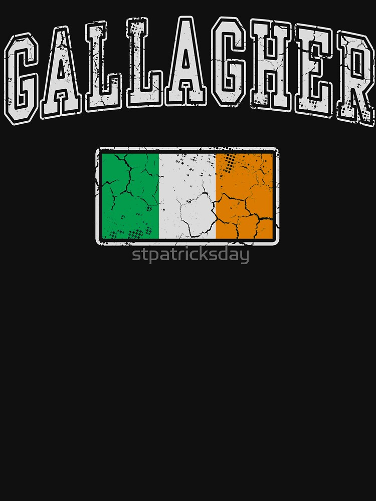 Gallagher Irish  by stpatricksday