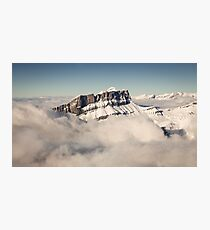 Above the Clouds, French Alps Photographic Print