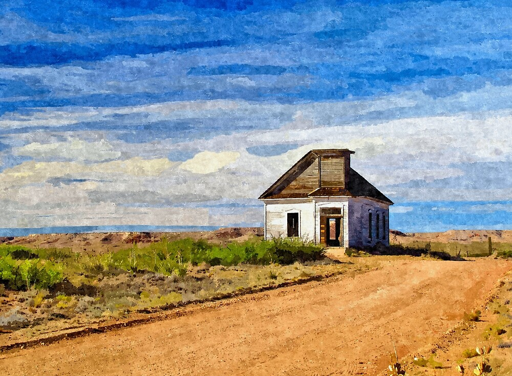 Abandoned In The Desert Southwest 3 - Artistic by jtrommer