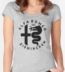 Alfa Romeo of Birmingham Crest Women's Fitted Scoop T-Shirt