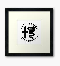 Alfa Romeo of Birmingham Crest Framed Print