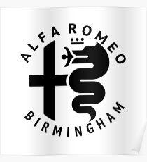 Alfa Romeo of Birmingham Crest Poster