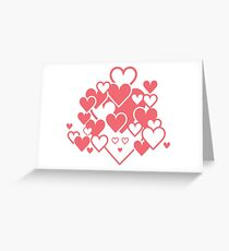Hearty Rosa Greeting Card
