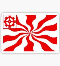 Flag of Mulhouse, Alsace Sticker