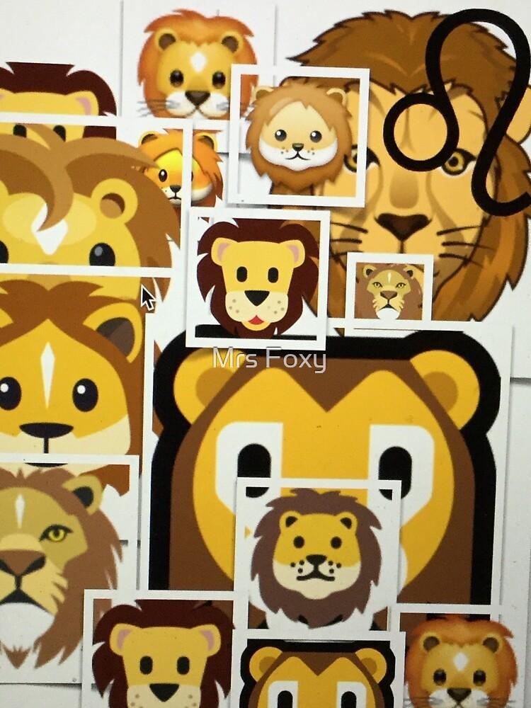 Leo Zodiac by Mrs Foxy