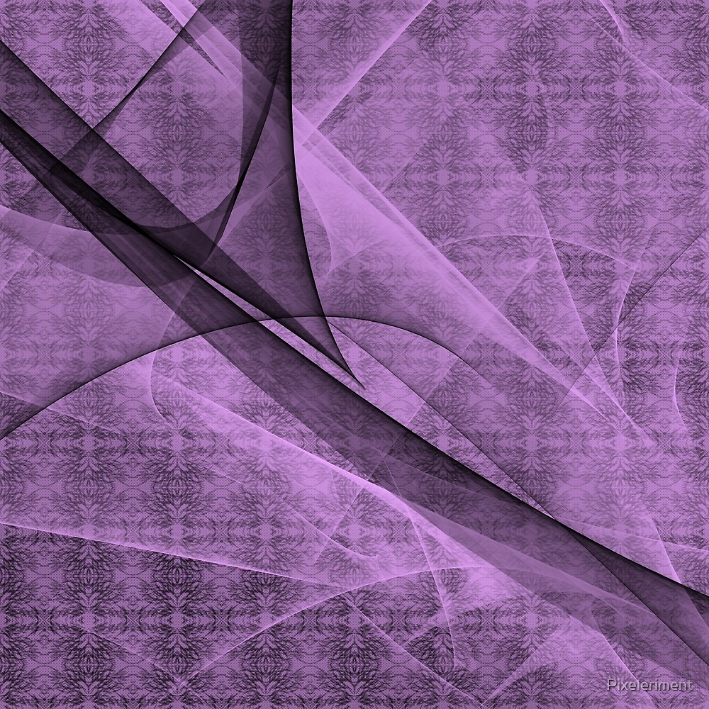 Purple Waves and Pattern by Pixeleriment