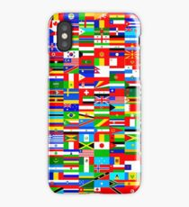 FLAGS OF THE WORLD iPhone X Case