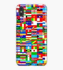 FLAGS OF THE WORLD iPhone XS Max Case