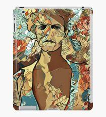 Flowerman Bowie iPad Case/Skin