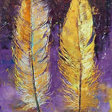 Gold Feathers by michaelcreese