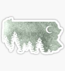 Summers in Pa  Sticker