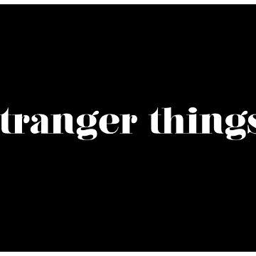 Stranger Things Blocked Design by serendipitous08