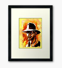 Indiana Jones! Framed Print