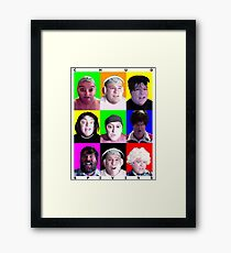 Comedy Hour Framed Print