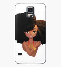 Funda/vinilo para Samsung Galaxy All Natural Afro Fabuloso