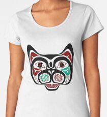 Northwest Pacific coast Haida Kitty Women's Premium T-Shirt