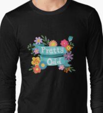 Pretty Odd Floral Banner Long Sleeve T-Shirt