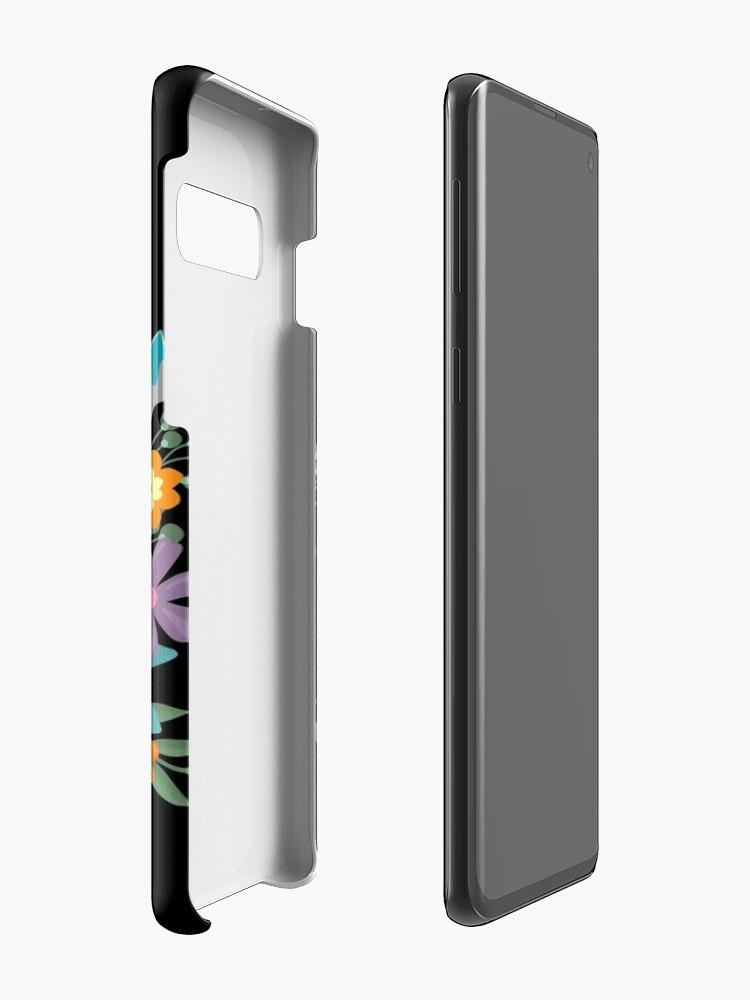 Alternate view of Pretty Odd Floral Banner Case & Skin for Samsung Galaxy