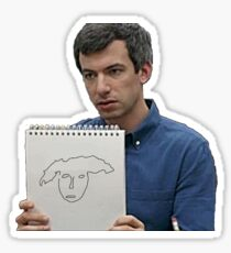 nathan for you sign Sticker