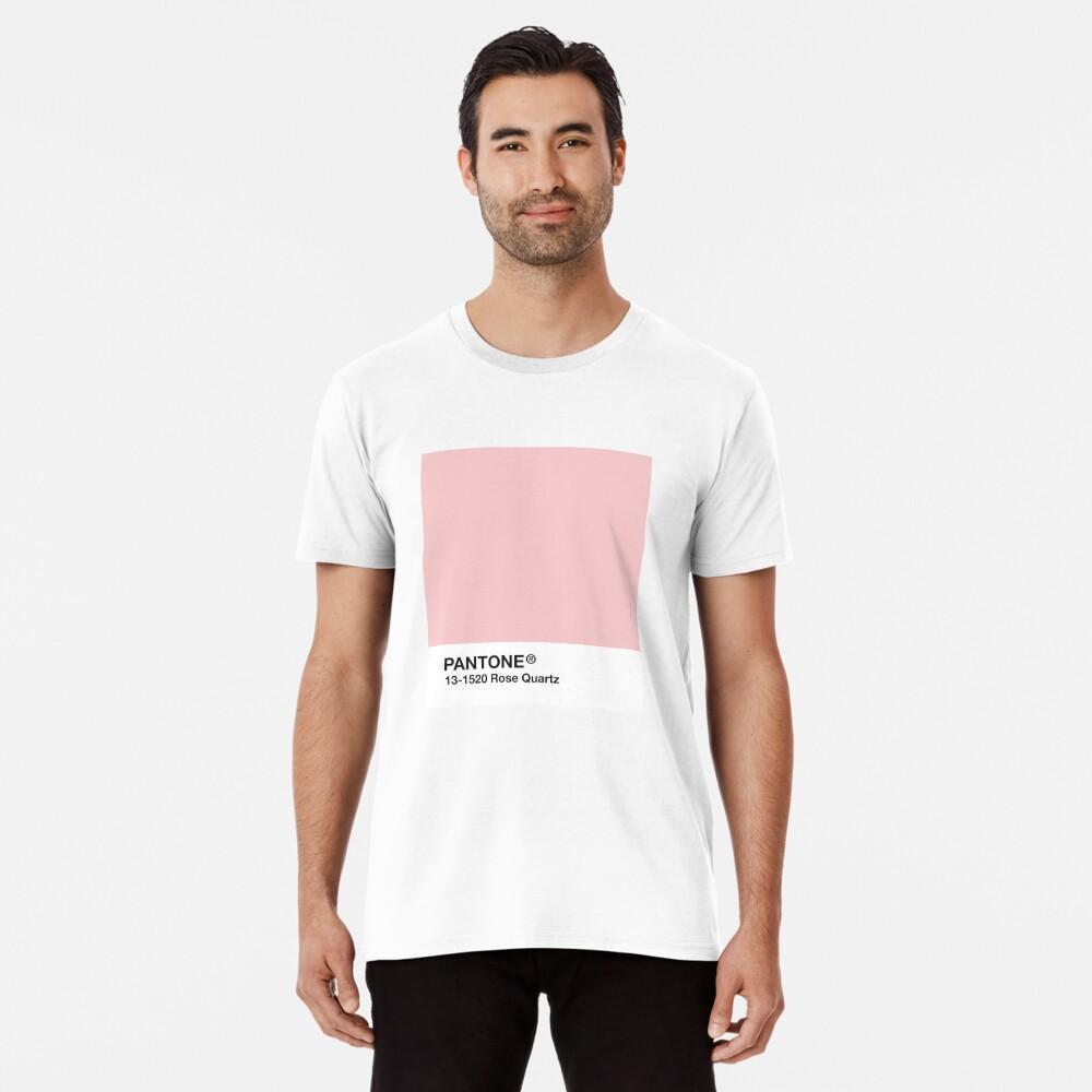 Pantone Serie und Tumblr Vibes - Rosenquarz AKA Millennial Pink Premium T-Shirt