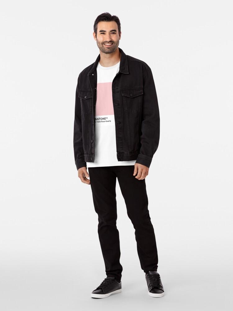 Alternative Ansicht von Pantone Serie und Tumblr Vibes - Rosenquarz AKA Millennial Pink Premium T-Shirt