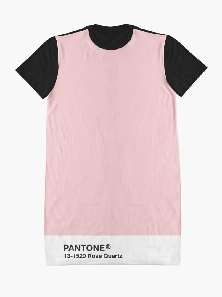 Alternative Ansicht von Pantone Serie und Tumblr Vibes - Rosenquarz AKA Millennial Pink T-Shirt Kleid