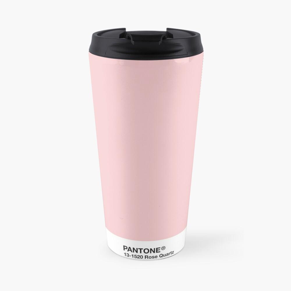 Pantone Serie und Tumblr Vibes - Rosenquarz AKA Millennial Pink Thermobecher