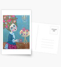 Thé pour Marie ... (Antoinette, ça c'est) Cartes postales