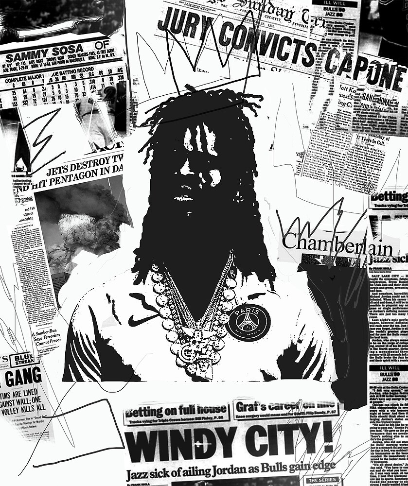 chief keef by nickbyer